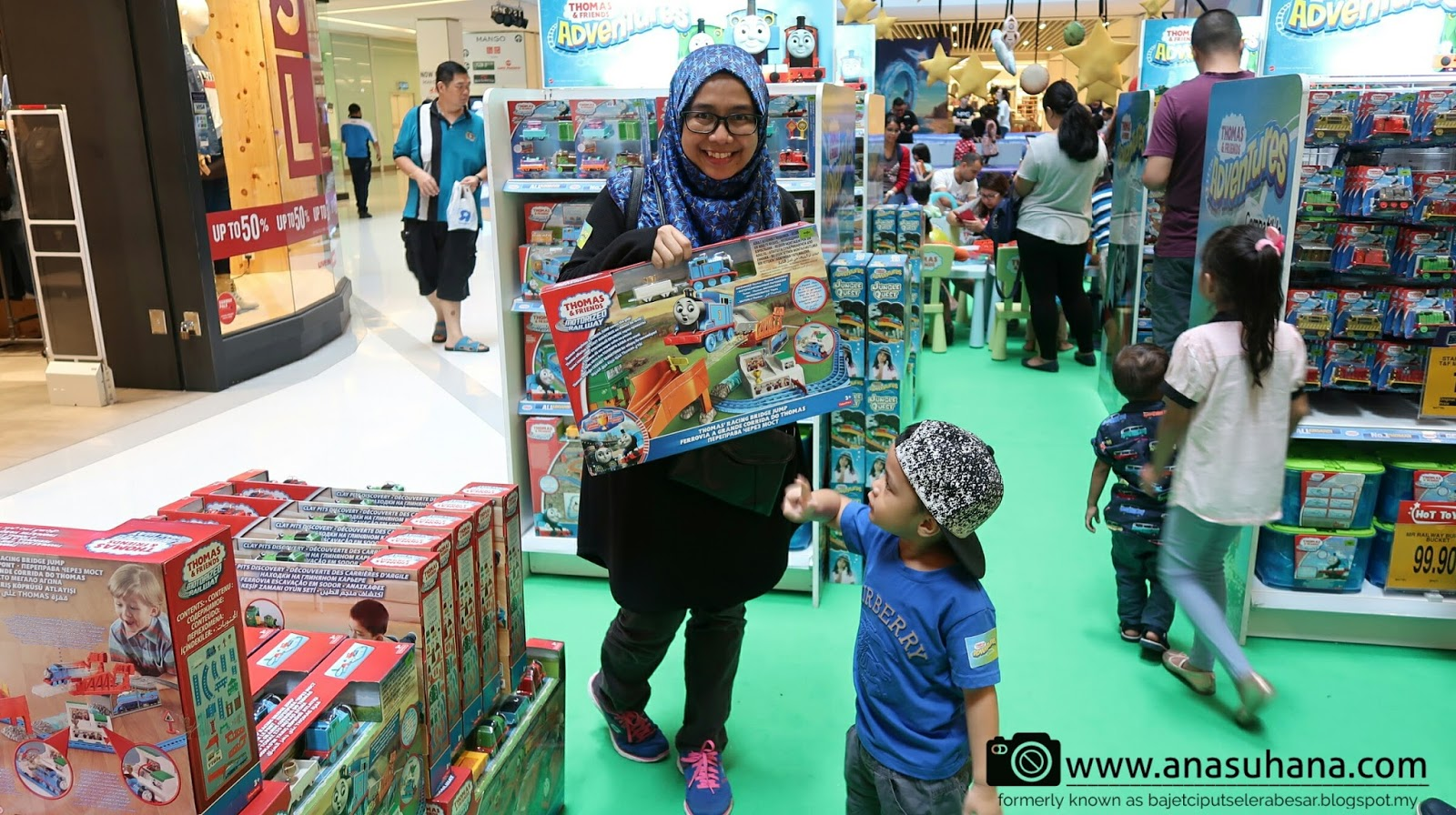 Jom Sertai Thomas & Friends  Adventure di Sunway Putra Mall