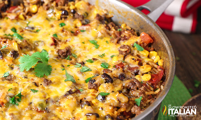 http://www.theslowroasteditalian.com/2016/02/one-skillet-mexican-rice-casserole-recipe.html