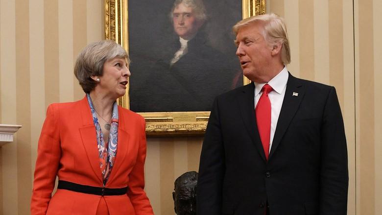 Petisi Tolak Kunjungan Trump Ke Inggris Tembus 1,2 Juta Pendukung