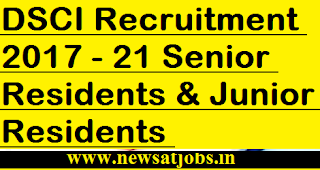 DSCI-jobs-21-Senior-Residents-Vacancies