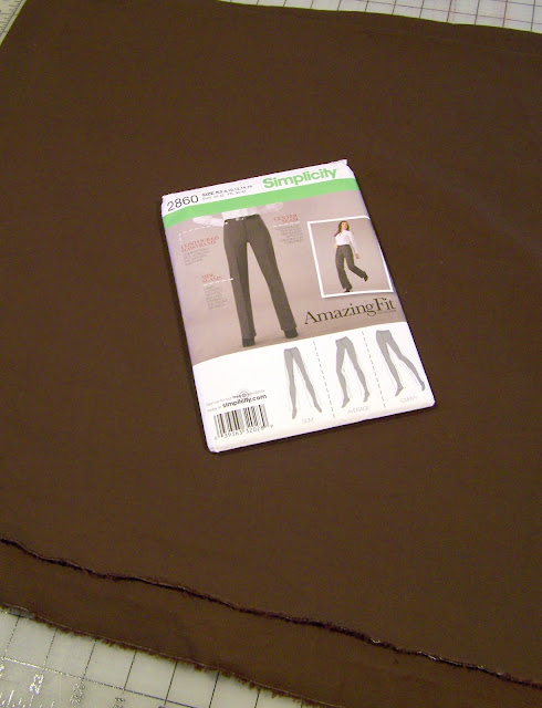 Simplicity 2860 Pants – Join Me, Cheer Me on, or Tell Me I'm Crazy!
