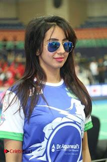 Sanjjanaa Stills at CBL 2016 (Celebrity Badminton League) Event ~ Celebs Next
