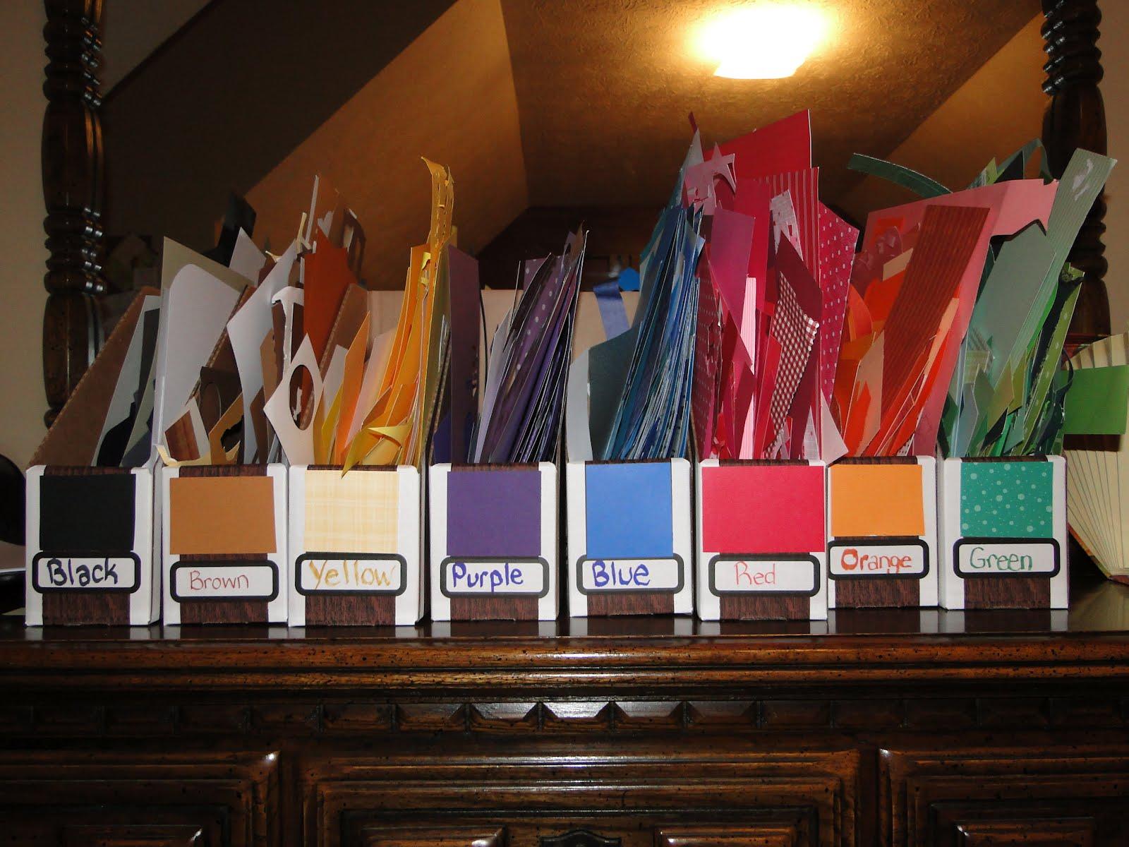 Making Life Easier Scrapbook Room Organization Tips
