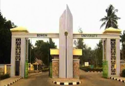 Bowen University Past Questions and Answers