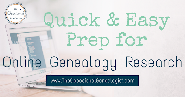 here's a genealogy hack for you if you're looking to speed up your online family history research
