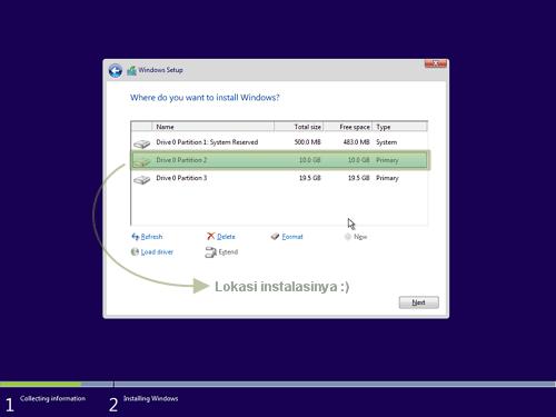 15 - Cara Install Windows 10
