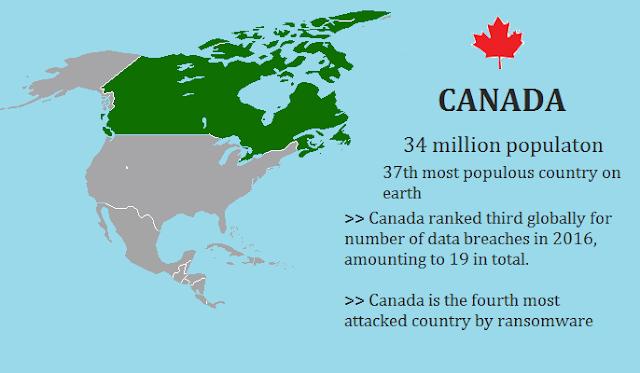 Canada data breaches