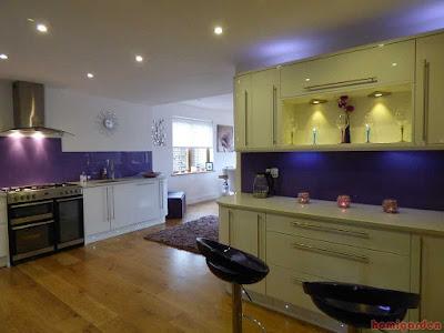 Kitchen, White, Modern, Interior, Design