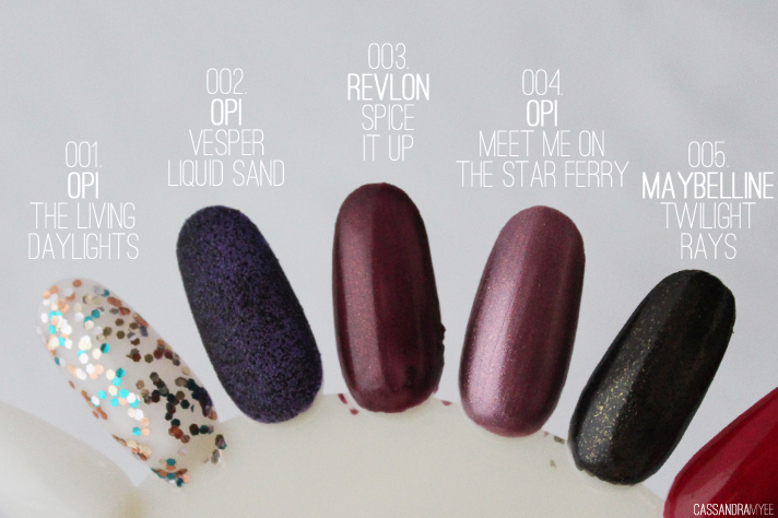 TOP 10 // Winter Nail Polish Picks - cassandramyee