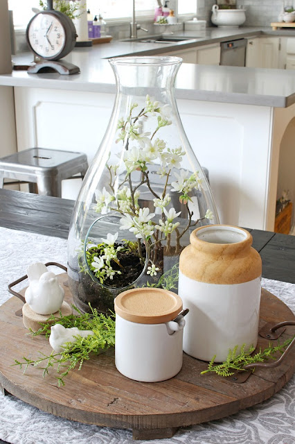 simple spring decorating deas