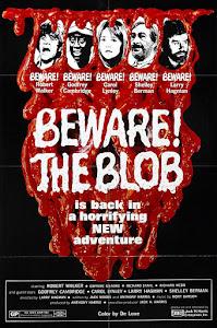Beware! The Blob Poster