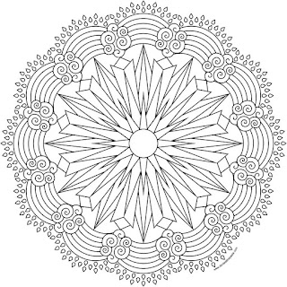Sun and rainbows coloring page available in jpg and transparent png #Coloring #Sun #Rainbows #mandalas