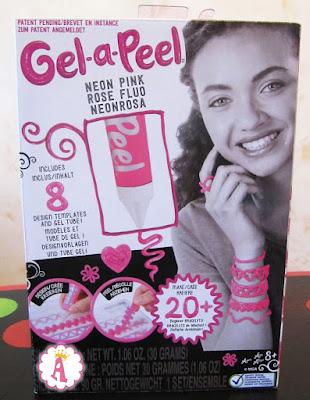 Розовый гель gel-a-peel для создания украшений