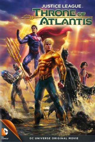 Justice League: Throne Of Atlantis [2015] [DVDR] [NTSC] [Latino]