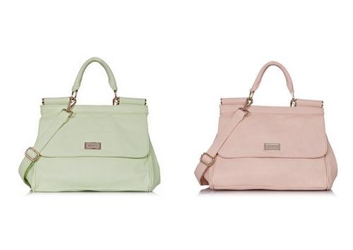 7301800ff43e5 Fason torebki nieco w stylu retro został przełamany właśnie modnymi  kolorami, dzięki czemu torebka świetnie sprawdzi się w świeżych letnich  stylizacjach.