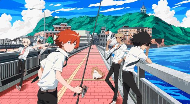 Tsuritama - Daftar Anime Sport terbaik Sepanjang Masa