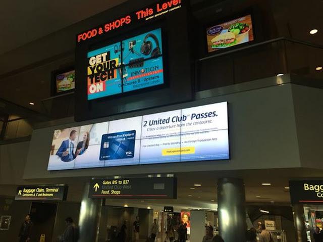 Màn hình quảng cáo tại sân bay chất lượng 4