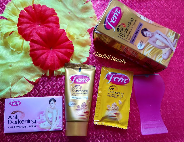Fem Anti Darkening Hair Removal Cream Gold Review