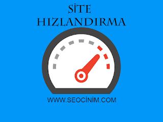site hızlandırma