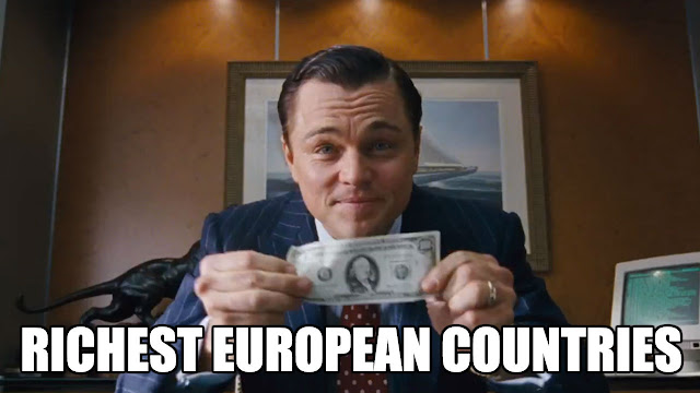 The top 10 RICHEST European Countries by GDP