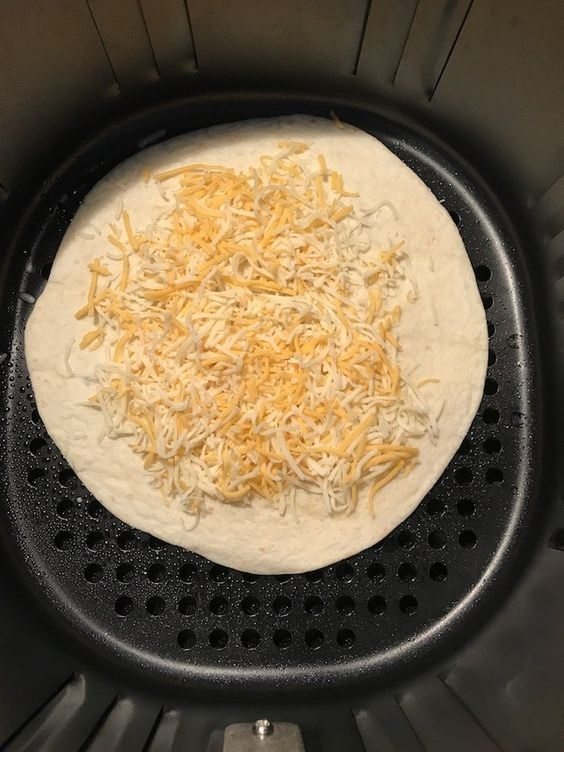 Air Fryer Chicken Quesadilla