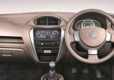 Maruti Suzuki Alto 800 Hatchback dash bord
