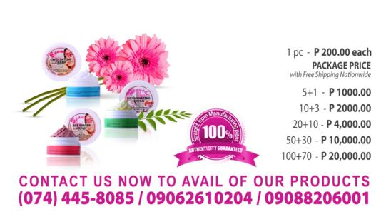Authentic Beauche Creams