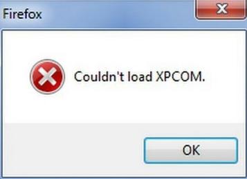 Cara mengatasi Mozilla Yang bacaanya couldn't Load XPcom