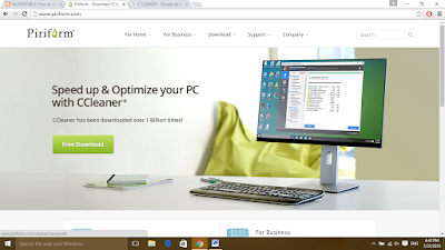 ccleaner website piriform