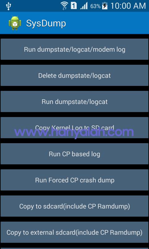 Apa itu Dumpstate/Logcat dan Apa Fungsinya ?
