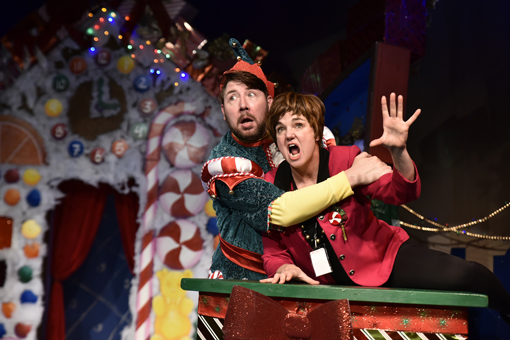 The Santaland Diaries | Horizon Theatre | Photo: Greg Mooney