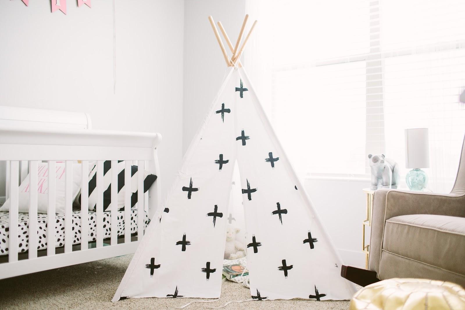 Girl Teepee, Girl Nursery Ideas, Nursery ideas