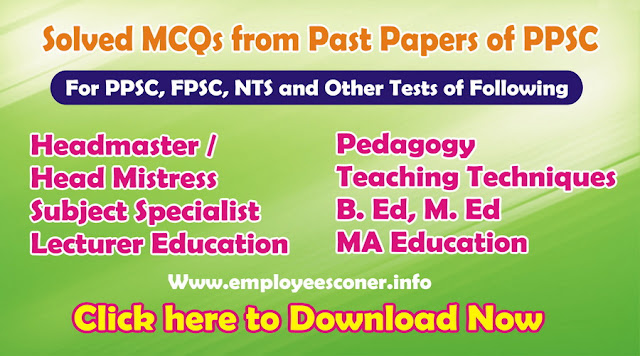 PPSC Past papers Solved MCQs FPSC