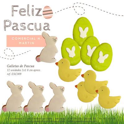 Galletas de Pascua - Comercial H. Martín