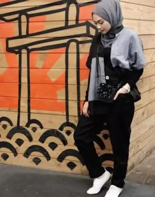 Inspirasi Baju Warna Gelap Buat Cewek Kurus, Agar Badan Terlihat Tidak Makin Lurus