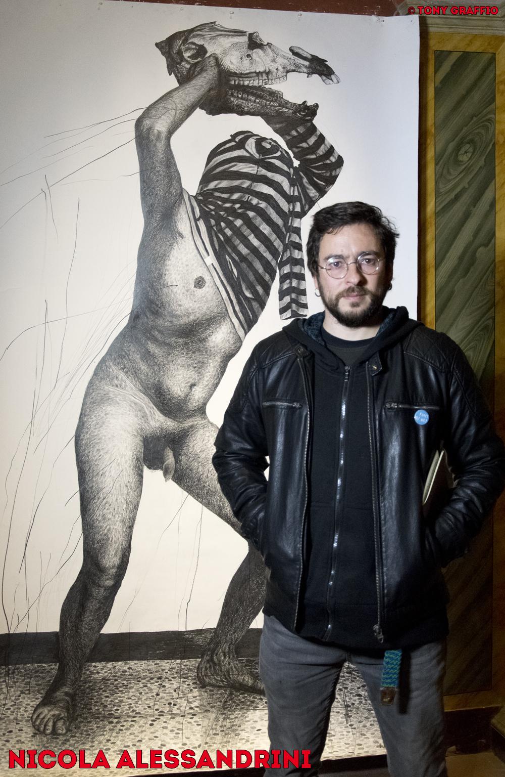 Nicola Alessandrini alla Pinacoteca Pianetti