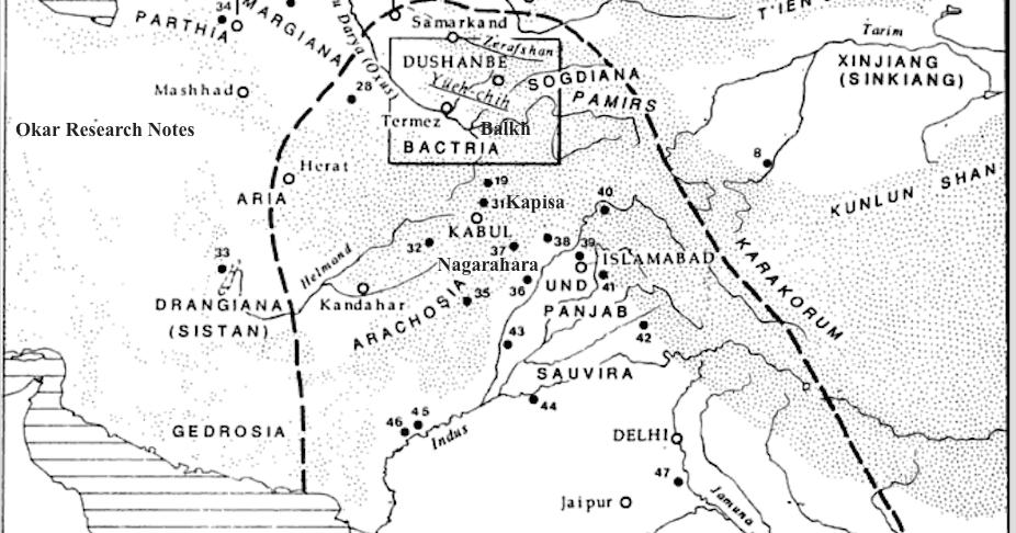 Okar Research: Bactria/Kapisa/Shambhala: the Chinese