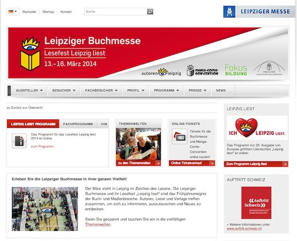 Leipziger Buchmesse - Feria del libro de Leipzig