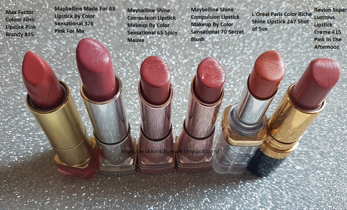 Loreal Rujlarım Loreal Paris Color Richie Serum Lipstick S103