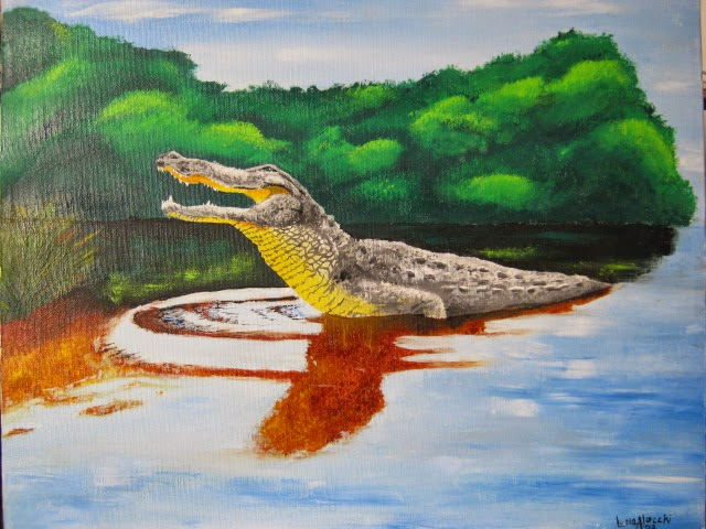 alligator-illustration-traditional-art