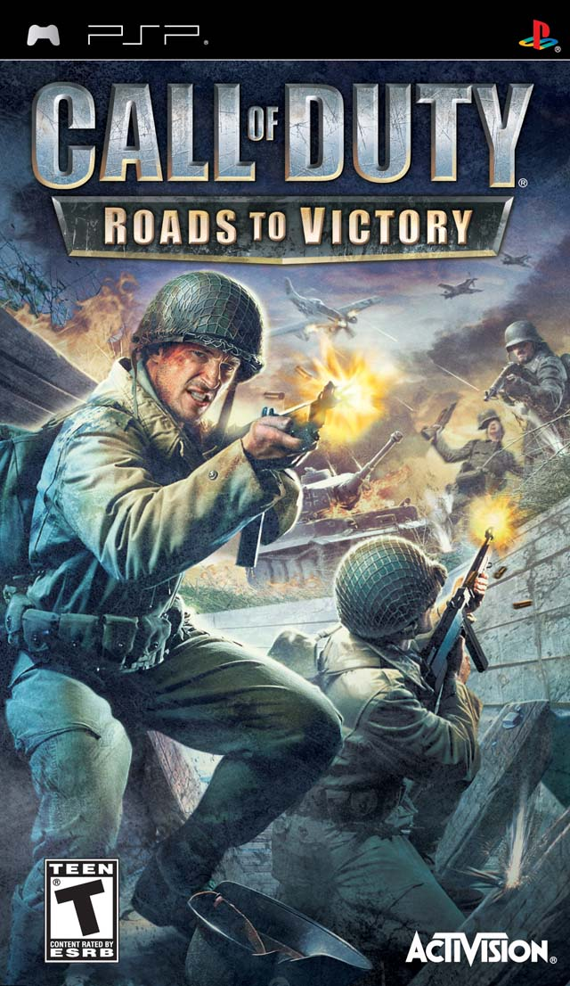 Call of Duty - Roads to Victory  - PSP - ISO Download