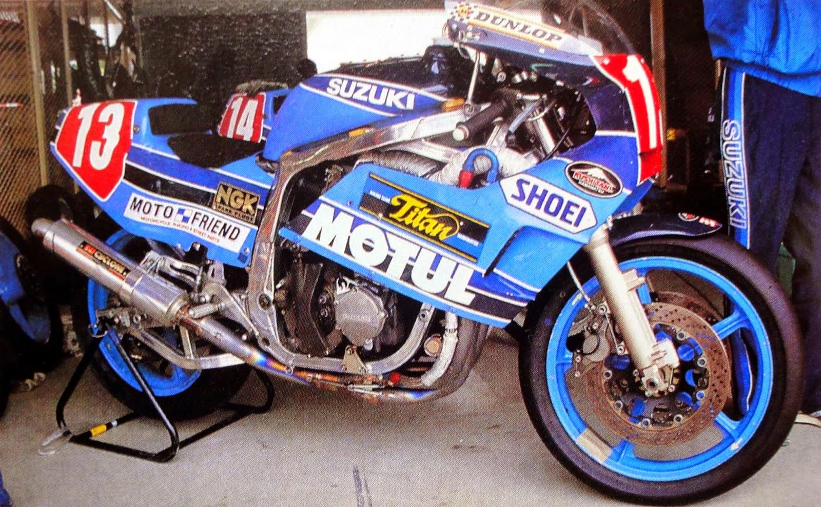 Suzuki GSX-R 750 limited early superbike racer Japanese