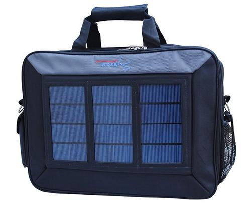 Mallette solaire chargeur ordinateur