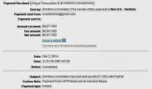 Payment Proof GPTPlanet
