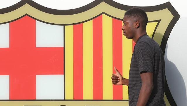 Cầu thủ đắt giá thứ 2 thế giới tươi rói đến Barca 6