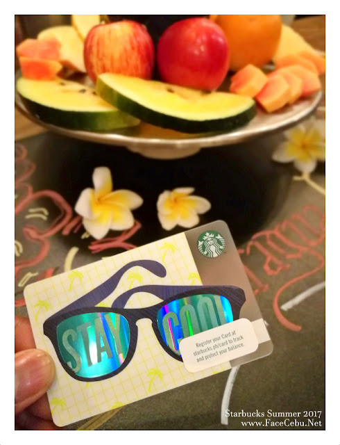 "Starbucks Summer 2017 ""Stay Cool"" Card"