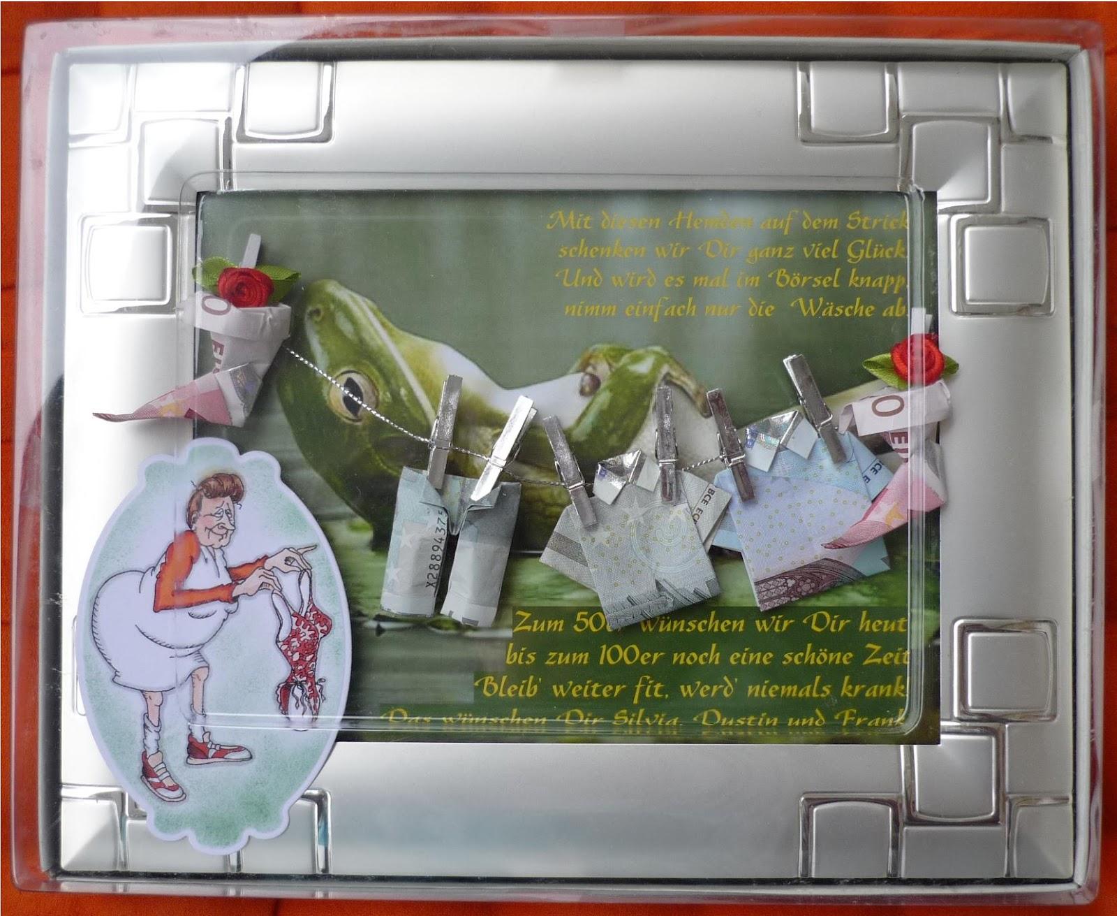Bastelideen 50 Geburtstag Geburtstags Explosionsbox Handmade Kultur