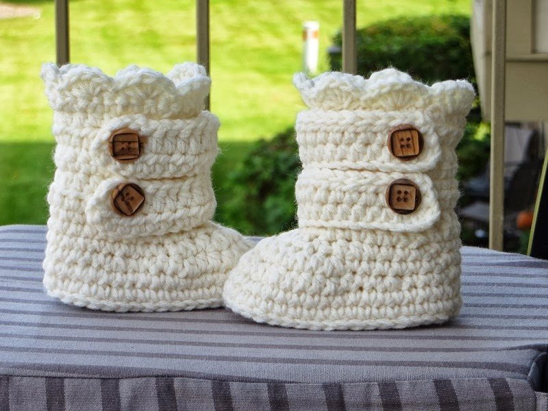 Crochet Dreamz: Toddler Classic Snow Boots, Toddler Boots Crochet ...