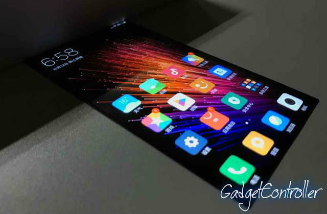 Xiaomi new smartphone with 'Bendable Screen'