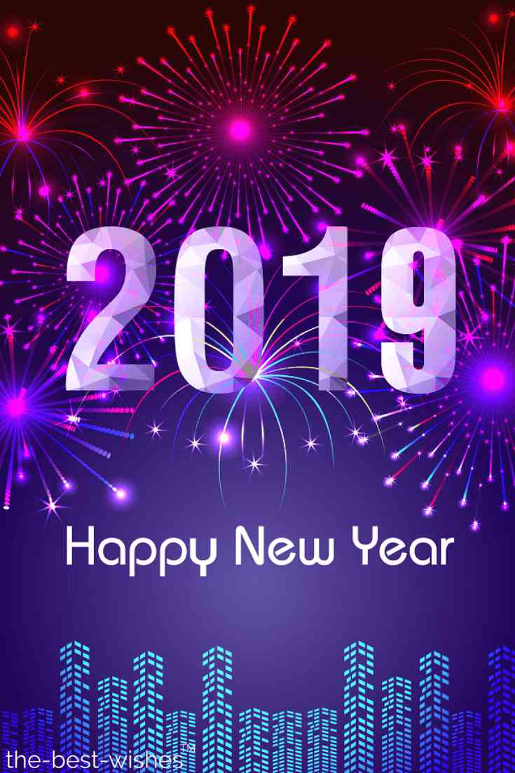 lovely happy new year 2019 image